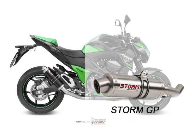 STORM GP Kawasaki Z 800 Auspuff 2013 bis 2016