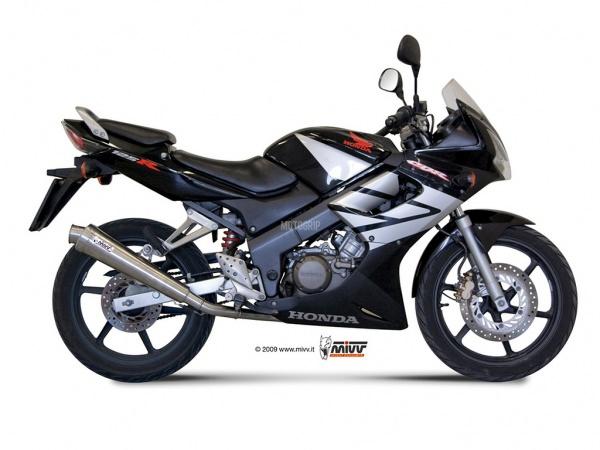 MIVV Honda Auspuff X-Cone CBR 125 R 2004 bis 2010