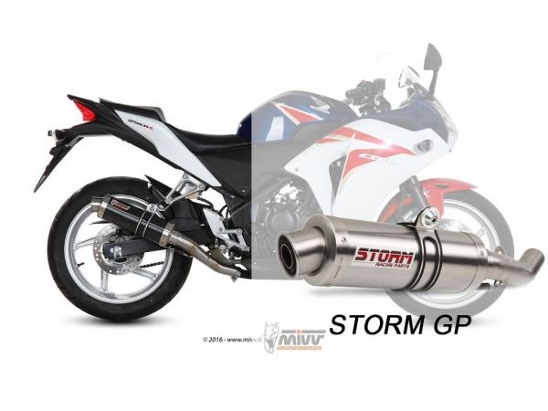 STORM GP Honda CBR 250 R Auspuff 2011 bis 2014