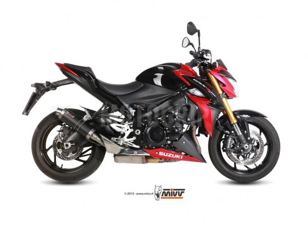 MIVV GP Suzuki GSX-S 1000 Auspuff 2015 Carbon