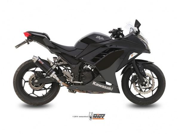 MIVV Kawasaki Auspuff GP NINJA 300 ab 2013 bis 2015