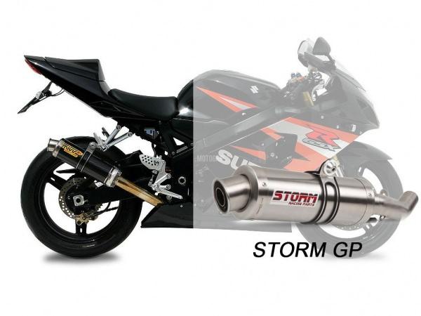 STORM Auspuff Suzuki GSX-R 750 GP ab 2004 bis 2005