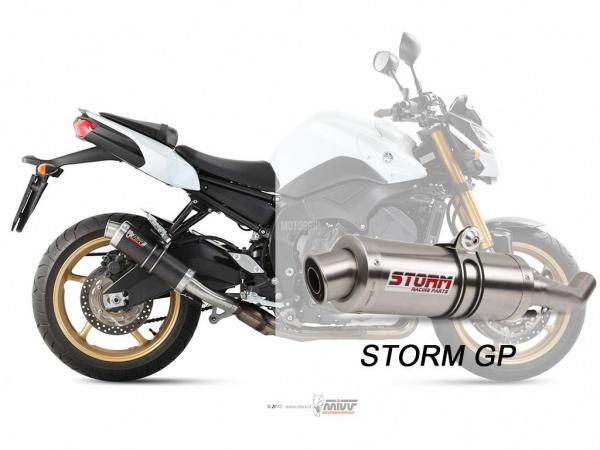 STORM GP Yamaha FZ8 / FAZER 8 Auspuff 2010 bis 2016