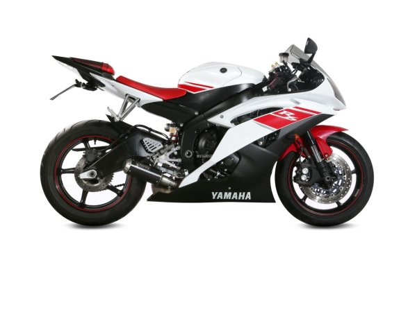 MIVV Yamaha YZF 600 R6 Auspuff MK3 2006 bis 2016