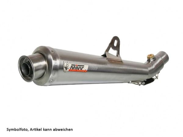 MIVV Triumph Auspuff X-Cone Tiefgelegt TIGER 1050 ab 2007 bis 2013