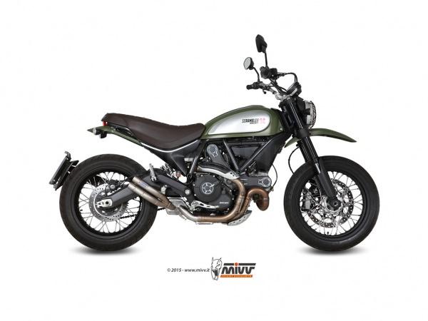 Ducati Scrambler Auspuff MIVV