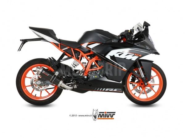 MIVV KTM Auspuff GP RC 125 ab 2014 bis 2016