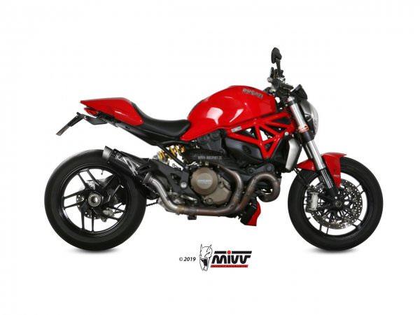 MIVV Ducati MONSTER 1200 Auspuff GP Pro 2014 bis 2016