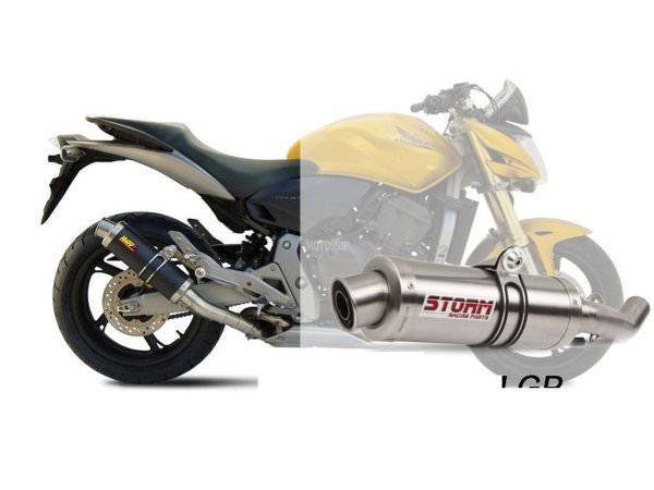 STORM GP Honda HORNET 600 Auspuff 2007 bis 2013