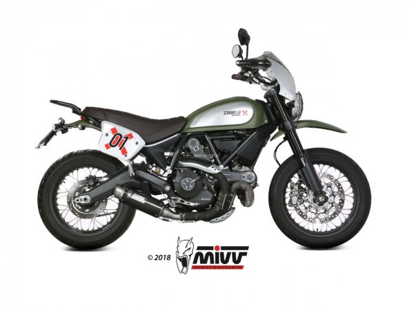 MIVV Ducati SCRAMBLER 800 Auspuff GP Pro ab 2015